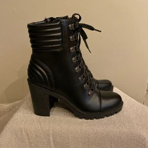 Guess heeled Combat boots New